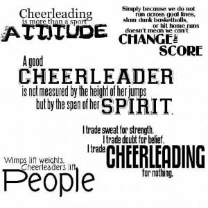 All Graphics » cheerleading quotes