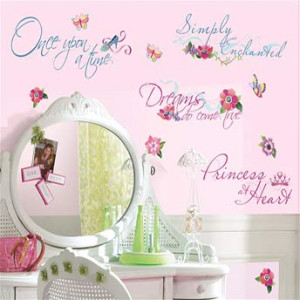 ... the Home Wall Decal Quotes My Little Princess Quotes & Phrases