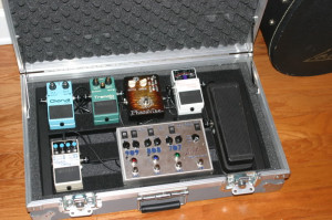 Most Recent Pedalboard Pic }{ Previously owned pedal list {}