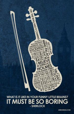 ... Sherlock Quotes, Bbc Sherlock, Bbcsherlock, Sherlock Poster, Quotes