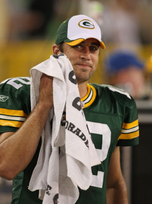 Aaron Rodgers - Chicago Bears v Green Bay Packers