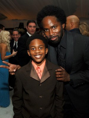 Harold Perrineau and Malcolm David Kelley