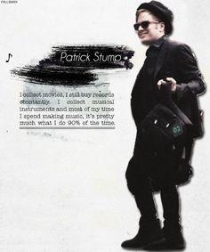 patrick stump quotes | 1k patrick fob fall out boy e Patrick Stump ...