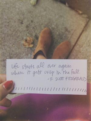 Scott Fitzgerald (quotes)