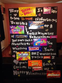 day candy board for your boyfriend more candy posters for boyfriends ...