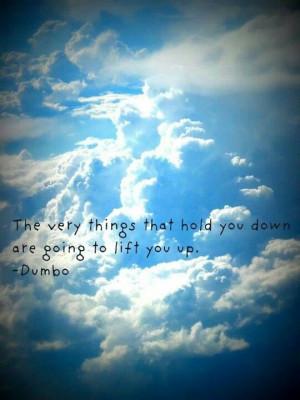 ... Basic Disney, Senior Quotes Disney, Disney Dumbo, Inspiration Quotes