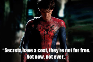 The Amazing Spider-Man' movie quote