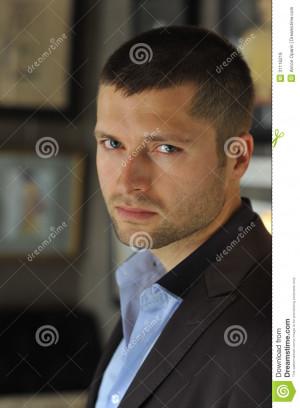 Male actor head shot