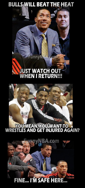 heat-vs-bulls-playoff-derrick-rose-wrestles-rose-return--funny-nba ...