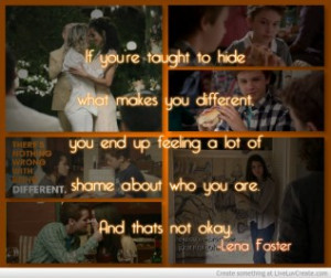 The Fosters Quote