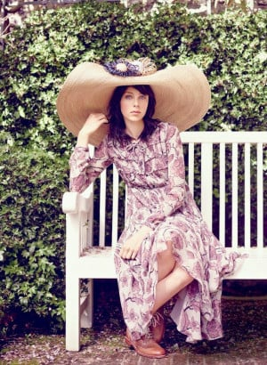 ... Inspiration, Edie Campbell, Eddie Campbell, English Rose, Dresses Edie