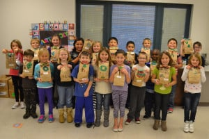 Brownsburg class delivers to Riley Children's Hospital