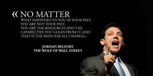 jordan belfort is the real wolf of wall street he s the one who wrote ...