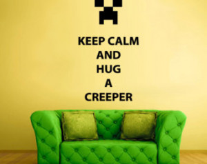 Facebook Creeper Quotes Words sign quote keep calm