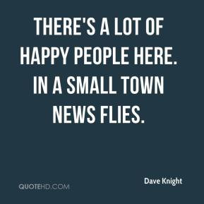 Small Town People Quotes