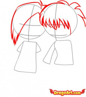 emo love heart drawings. How to Draw Emo Love enlarge