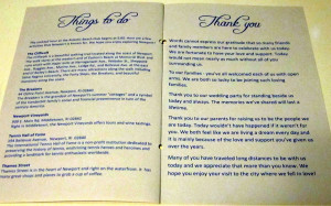 Wedding Program Poems and Quotes