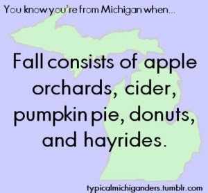 You Know You're From Michigan When...