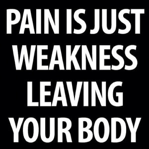 pain #weakness #body #quote #determination #inspiration #motivation # ...