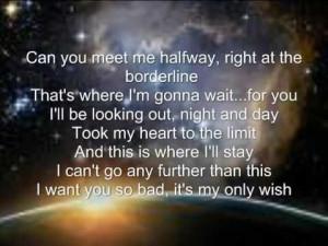 javan meet me halfway quotes about love