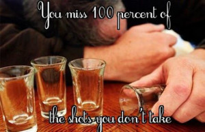 Fitness Quotes with Photos of People Drinking
