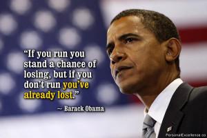 If you run ...