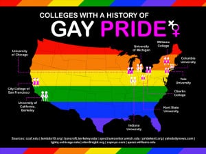 every june americans recognize gay pride month via famous parades and ...