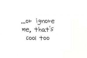 funny, haha, ignore, love, quote, true
