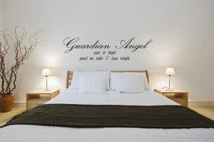 Guardian Angels Quotes Protection Vinyl-Guardian-Angel-Pure-