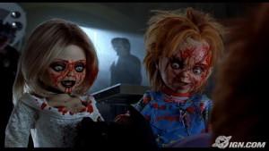 Chucky Chucky and Tiffany