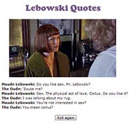 lebowski quotes enjoy random quotes from your favorite big lebowski ...