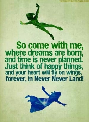 love Peter Pan quotes tgey are so inspiring