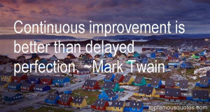 Top Quotes About Continuous Improvement