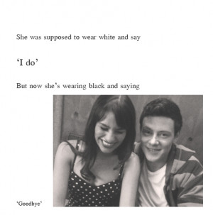 cory, glee, love, quote, quotes, text