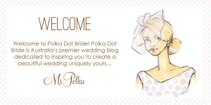 Welcome New Employee Message Welcome to polka dot bride