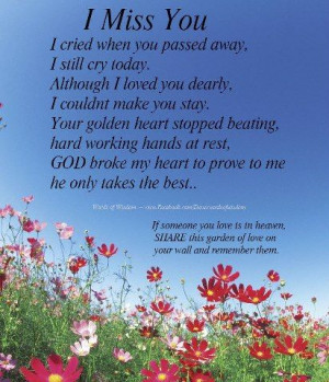 RIP MOM QUOTES POEMS image quotes at BuzzQuotes.com
