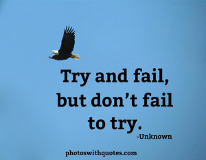 Try and Fail Quotes