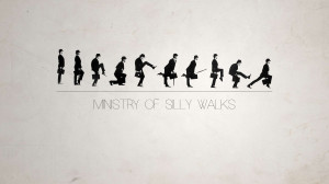 Ministry of Silly Walks HD Wallpaper
