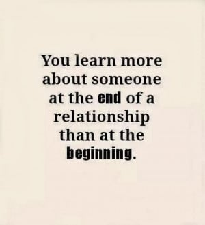 Time to End Relationship Quotes