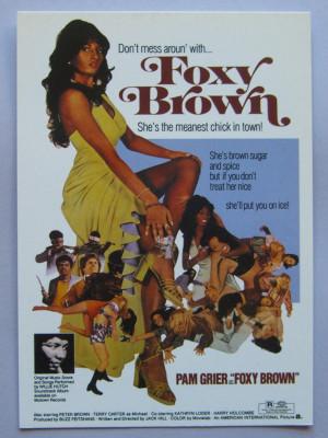 Pam Grier As Foxy Brown http://www.gemm.com/artist/PAM-GRIER