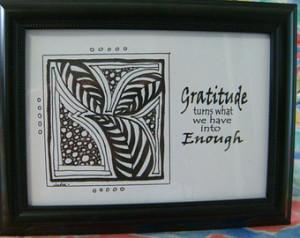 AA Recovery Gift Al-Anon NA Sponsor Sponsee Inspirational Framed Art ...