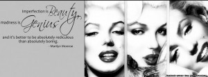 Marilyn Monroe Quote facebook cover, Marilyn Monroe Quote facebook ...