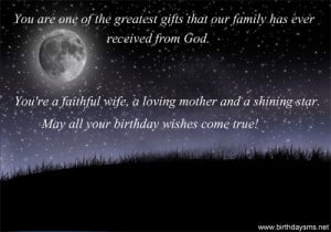 Birthday Sayings for Daughter in Law
