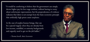 Thomas Sowell Minimum Wage