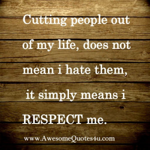 Self respect can be a extension of your ego or a priceless virtue