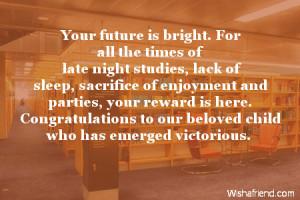 Graduation Quotes For Parents