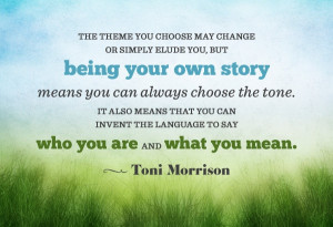 ... people, I offer you 10 inspiring Toni Morrison quotes via Pinterest