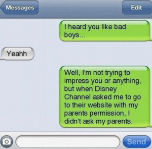 cute, funny, iphone, message, text