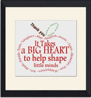Teacher Gift- Appreciation Apple- Thank you- word art Instant Download ...