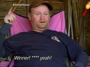 Swearing champion: Sugar Bear won the competition and was called a ...